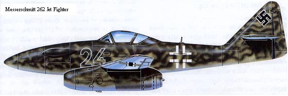 Messerschmitt 262 Jet Fighter