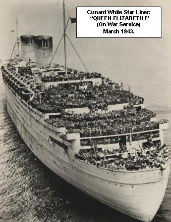 Cunard White Star Liner Queen Elizabeth (1)