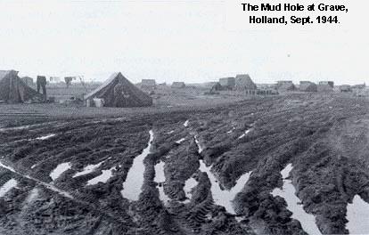 Mudhole at Grave, Holland, Sept. 1944